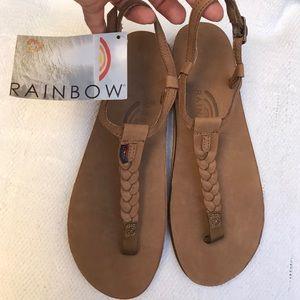 Nwt RAINBOW 8 t street sandals